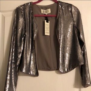 Bb Dakota sequin blazer NWT